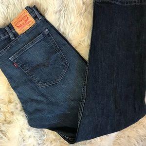 Levi's 505 Jeans Straight Leg 38 X 32